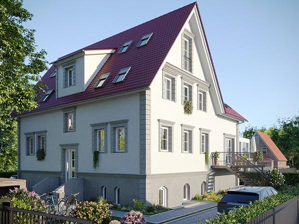 Fassade der Teltow-Villa